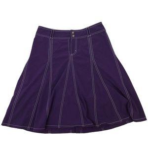 Athleta | Whatever Flare Skort Purple Size 6